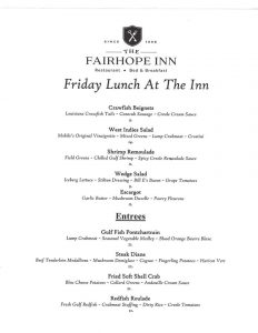 Fairhope Friday Lunch